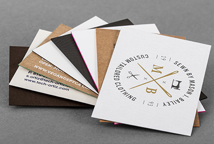 Luxury Business Cards with Classy Effects