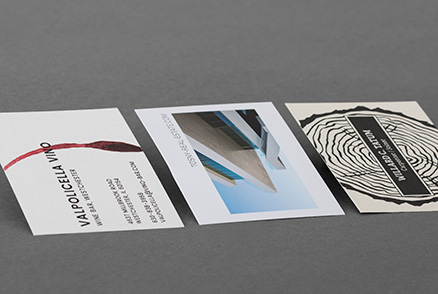 Business Cards on Natural and Eco-Friendly Papers