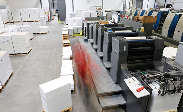 Les sites de production de PrintCarrier.com