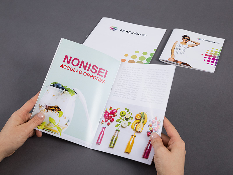 Product details Loop-Stitched Brochures 2
