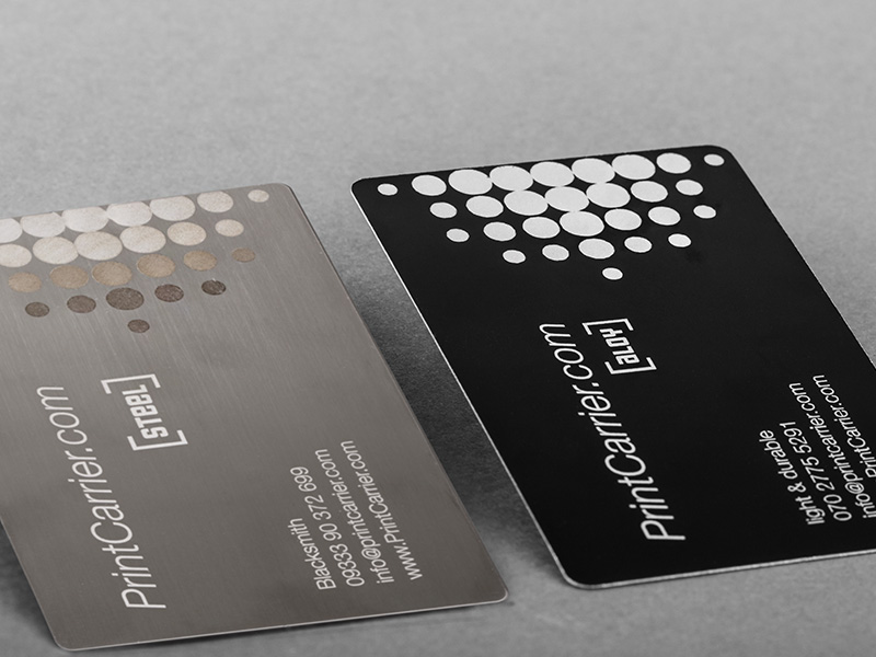 Product details Metal Business Cards 1