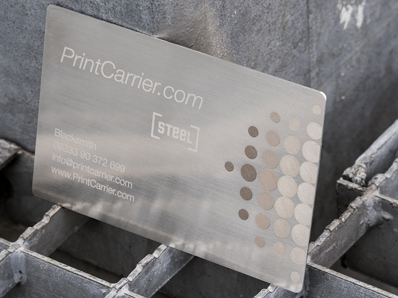 Product details Metal Business Cards 2