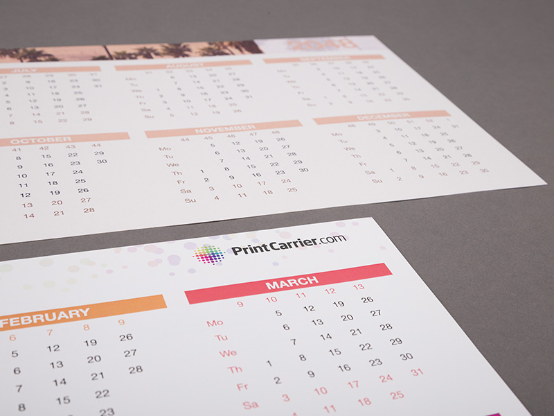 Product details Double-Sided Calendars 2