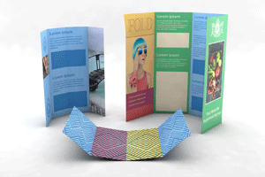 Folded Flyers - Double Gate Fold