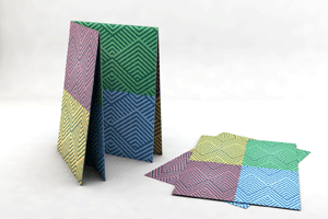 Folded Flyers - Double-Cross (French) Fold