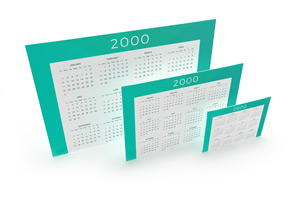 Single-Sided Wall Calendars